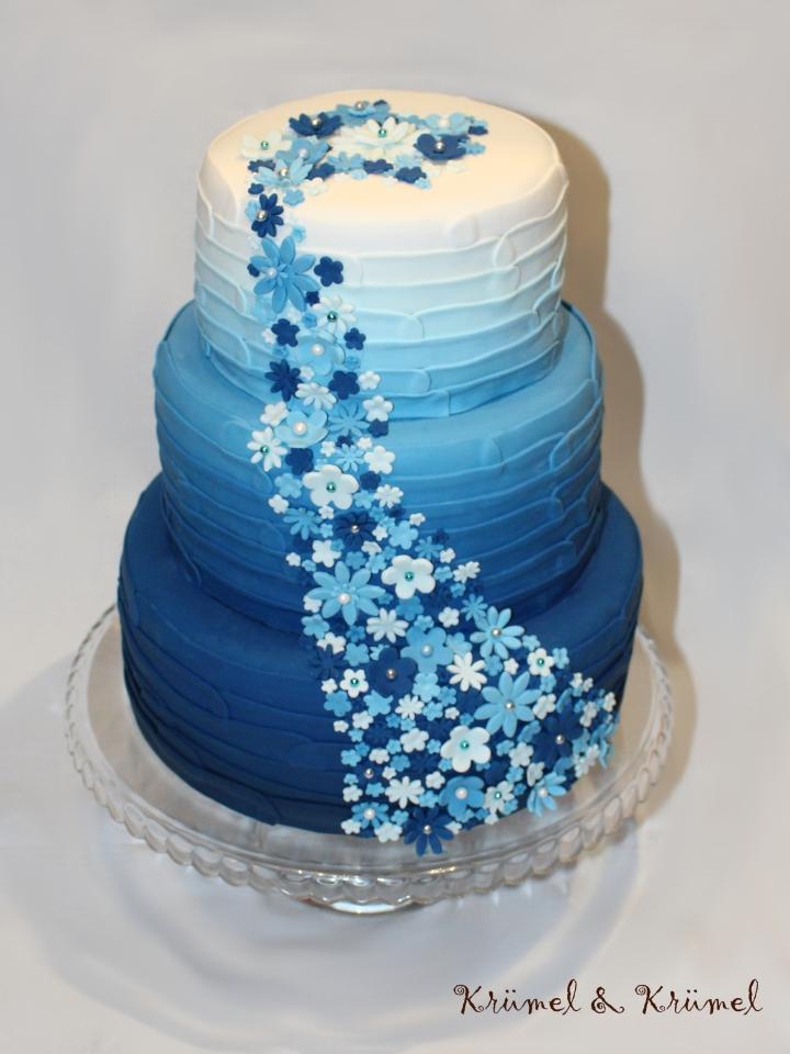 Ombre Look Blau 2